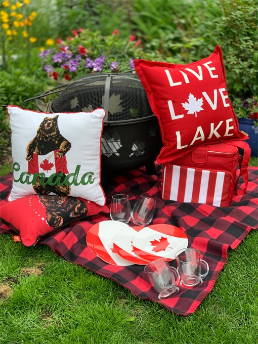 Buy your tickets for a chance to win a great Canada Day package with firepit