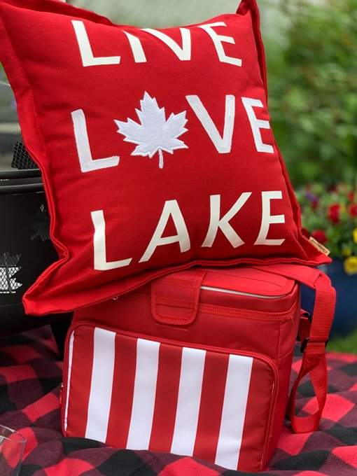 Buy your tickets for a chance to win a great Canada Day package with pillows