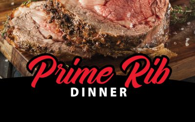 CANCELLED – Prime Rib Dinner August 8