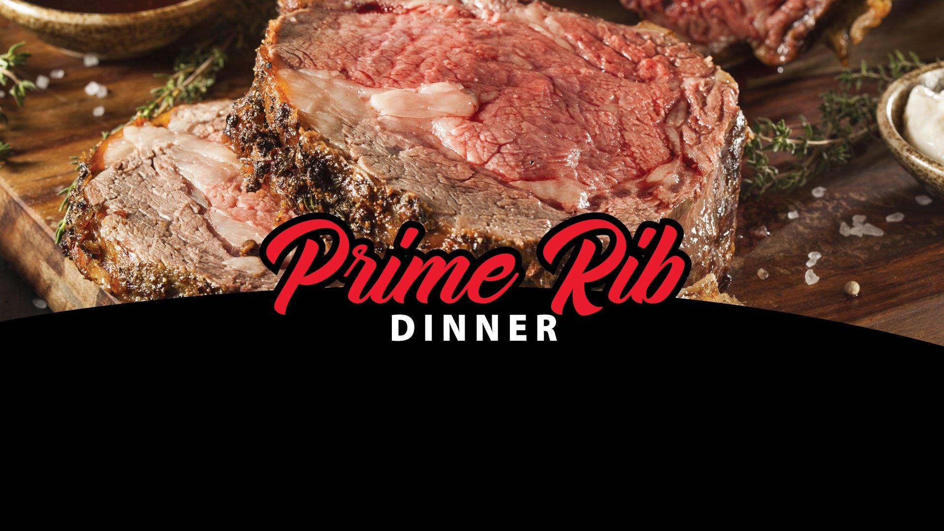 Prime Rib Dinner August 8, 2020